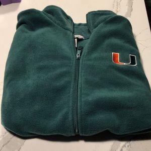 Columbia Brand University of Miami Fleece Vest